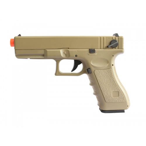 Pistola Airsoft Glock 18C - CM.030 Tan