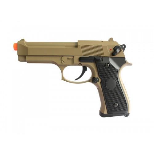 Pistola Airsoft Beretta - CM.126 Tan