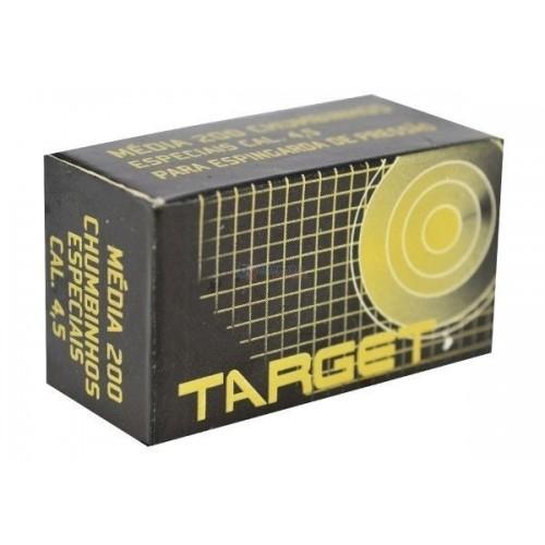 Chumbinho Target 4.5mm - 200un.